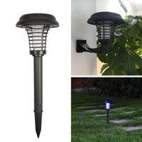 Wholesale solar mosquito lamp Solar insecticidal lamp outdoor solar street light