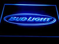 Yellow Office 1 Bud Light Beer Bar Pub Club NR Neon Light Signs -LA001b