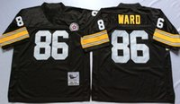 Wholesale 86 Hines Ward Iynn Swann Greg Lloyd Name And Number Are Stitched Mens Throwback Football Jerseys