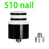 Wholesale Original wax nail ecigarette for vaporizer portable dry herb ceramic coils better insulation screws on nail thread for vape mod