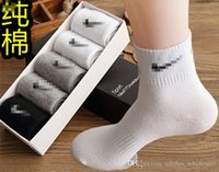 Wholesale 2016 Fashion Pure cotton season new boxed NNikes sports socks cotton socks man sports socks cotton socks in