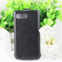 acer duo - High Quality Mobile Phone Case For Acer E350 Up And Down PU Flip Leather Cover For Acer Liquid Gallant Duo E350