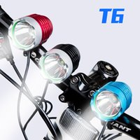 Wholesale T6 Lumen CREE XM L bicycle head light front cycle light Head light Lamp with amount popular