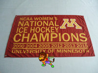 Polyester big banners - University of Minnesota Big Ten Conference Flag hot sell goods X5FT X90CM Banner brass metal holes