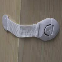 Wholesale 10 Cabinet Door Drawers Refrigerator Toilet Lengthened Bendy Safety Plastic Locks For Child Kid Baby Safety
