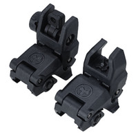Wholesale 20MM Rail Gen1 Tactical Folding Front Rear Flip Backup Sights