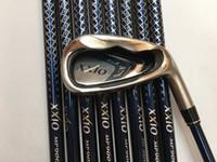 Wholesale OEM factory sports top quality regural stiff golf club XXIO irons set freeshipping