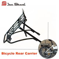 bicycle trailer cargo - Aluminum Alloy Inch Bicycle Parts Carrier Bike Trailer Rack Accessory Para Bottle Bag Carrier Cargo Racks Holder Kickstand