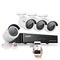 Wholesale Sannce CH PoE NVR Surveillance System with x MP HD Network IP Cameras