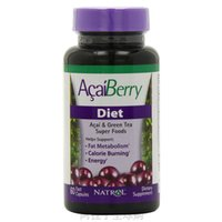 acai berry extract - 2 Bottles of Nature Acai Berry Extract Capsules Acai Berry Green tea Complex Caps Powerful Antioxidant