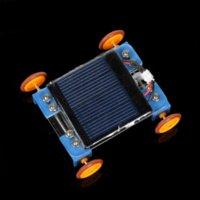 best technology gifts - Crab Kingdom Solar car DIY Model Assembled Car Technology making DIY Model Best Gift