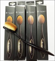 artist shadow - Ana stasia Makeup Brushes Blending Brushes Powder Face Brushes Foundation Eye Shadow Professional Cheap Makeup Artist Oval Toothbrush Tools