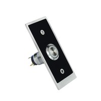 Wholesale 12V DC Aluminum Alloy PC Shell Exit Button W F1292D