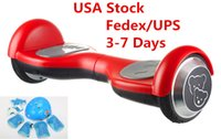Wholesale 3 Days USA Stock Kids Birthday Gift Scooter Hoverboard inch Smart Balancing Wheel Children Toys Electric Skateboard Protective Tools