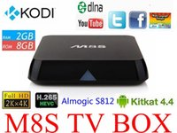 Cheap Stream live TV Android Box 8gb 2gb M8s Best M8s Amlogic S812
