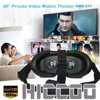 Wholesale Home Audio Video Video Glasses High definition quot mobile theater Glasses muilimedia play P video play