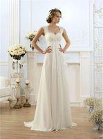Wholesale 2016 Vintage Lace Maternity Wedding Dresses for Pregnant Women Cheap Ivory Chiffon Empire Plus Size Corset Bridal Gowns under