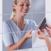 bathroom mirror box - DIY box Mirror Wall Stickers cm combination of creative home decor living room bathroom attached to a movable mirror