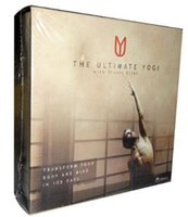 Wholesale The Ultimate Yogi DVD Cheap Yogi Fitness Workout DVD Set Hot Sale Bodybuilding Exercise Video Disc with Fast