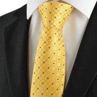 al por mayor juegos de negocio amarillo-Corbatas Hombre corbata Corbata Corbata para hombre formal Corbata para hombre formal para bodas KT1035