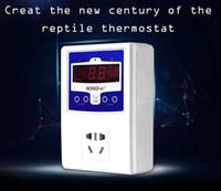 Cheap NOMOY Reptile Digital 220VAC   50Hz 6A Waterproof Probe Thermostat Heat Pad Mat Lamp Terrarium Temperature Controller