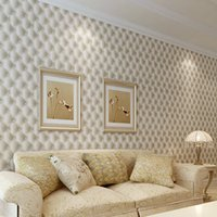 Wholesale 10 m D wall sticker adesivo de parede vinilos pared Imitation Leather vein wallpaper for walls living room of d wall paper