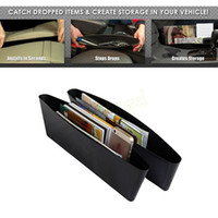 Wholesale 1pc Catch Catcher Storage Organizer Box Car Seat Gap Slit Pocket Holder HA10572