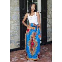 Wholesale 2016 New fashion African design skirt Hottest Europe and Americon totem print dress suit of cultivate one s morality dresses