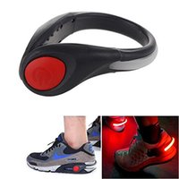 Wholesale Night Safety Outdoor Sport LED Shoe Bright Light Clip Stay Visible and Safe For Running Cycling Bike