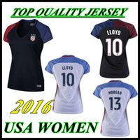 Wholesale Thai Quality custom USA home away women Uniform Rugby Jerseys LLOYD MORGAN RAPINOE American Jerseys