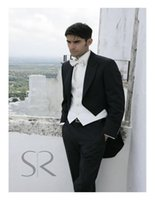best bow ties for men - The Groom Dress Custom Of The Best Man For The Wedding Of Thin Body Best Man Suit Of The Groom coat Pants Vest bow tie
