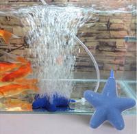 Wholesale Star Shape Air Stone Bubble For Aquarium Fish Tank Hydroponics Aerator Diffuser Aquarium Pump