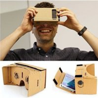 active viewer - For Google DIY Cardboard VR Viewer D Glasses For iphone s s plus Smart Phones