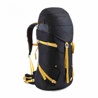baseball articles - 45L Article Aluminum Ultralight Outdoor Bag Professional EVA Rear Panel Backpacks With Rain Cover Backpack Travel Hiking Bags