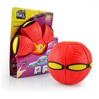 Cheap UFO Magic Deformated Ball G2 with Light for Kids Outdoor Game Child-parent Play Toy Sport Kids Gift