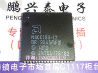 amd microprocessors - Amd N80C188 microprocessor square plcc68 plastic package seal cpu Electronic Components N80C188