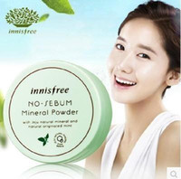 Wholesale Innisfree Mint Mineral Powder Matte loose Powder g Ruptured Foundation Fixed make up Honey Powder Cosmetic Stage Makeup