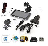 automotive night vision camera - 7 quot RAM G Car GPS Navigation Bluetooth AV IN Reverse Camera Map LED Night Vision CCD Car Rear View Camera Parking Monitor