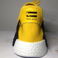 basketball shoes uk - New NMD Human Race Human Race NMDs Runner Sports Shoes Supercolor Yellow White Black Grey pricing US UK Canada Australia With Box