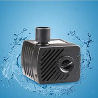 Wholesale 2016 New V W Aquarium Fish Tank Aquarium Mini Pump Cylinder Pumps ultra Quiet Submersible Pump