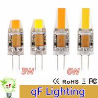 G4 blanc bulbe France-Dimmable G4 3W 0705 / 6W 1505 SMD COB Éclairage LED Cr.ystal Ampoule Lumineuse Blanc Maison Lampe Lustre Éclairage Remplacer Ampoules halogènes