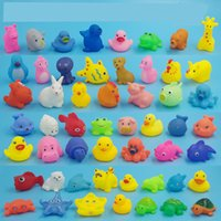 baby production - Various Vinyl Animals Baby Bathtub Toys Sound Production Under Extrusion