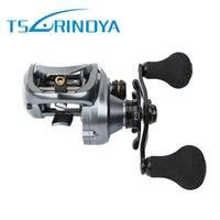 Wholesale Tsurinoya Bait Casting Reel Metal Body Max Drag kgs Snakehead Reel Fresh Salt Water JIG Fishing Reel Bait Cast Wheel