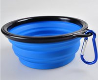 Wholesale Silicone dog feeding bowl Good Quality Free DHL