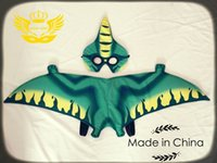 Wholesale Halloween Gift Plush Pterosaur Wing Mask Set