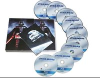 Wholesale Blu ray Star Wars the complete sage blue ray dvds US Version Disc DHL free factory price from idea