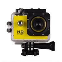 Wholesale Sports Waterproof Dv Camera Video - SJ4000 90 degree sports camera sports DV 2.0inch LCD HD 1080P 30m waterproof outdoor action video camera