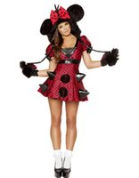 adult cartoon halloween costumes - Holiday Sexy Fur Fancy Dress Deluxe Carnival Cospaly Animal Costume Adult Women Halloween Cartoon Costume W408563