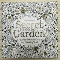 Wholesale 100pcs Decompression Artifact Secret Garden An Inky Treasure Hunt and Coloring Book Secret Garden Coloring Book
