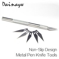 Wholesale Dainayw Non Slip Metal Utility Knife Wood Carving Tools BladesCraft Sculpture Engraving For Stationery Art Supplies